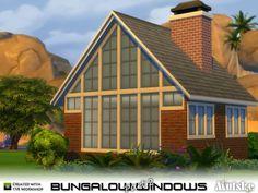 Sims 4 CC's - The Best: Bungalow Windows Part 2 by Mutske