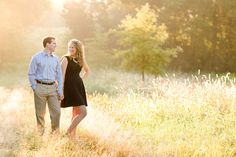 Wow! Dawn light for an engagement session = win.  Tim + Mary Margaret | Engaged