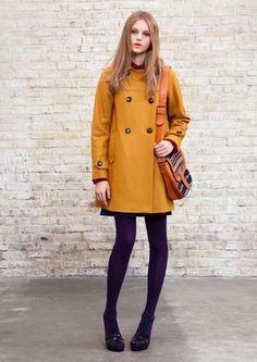I wish it got cold enough in South Florida to justify a great coat like this!!