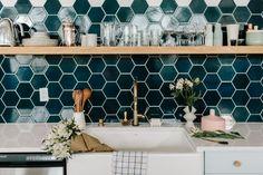 Wit & Delight Kitchen Backsplash | Installation Gallery | Fireclay Tile