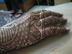 detailed henna design beautiful
