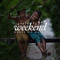 Who's not?! #Weekend always makes us #happy!  #madewithstudio