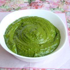 Pesto z česneku medvědího Canned Meat, Pesto, Chutney, Ham, Kefir, Food And Drink, Favorite Recipes, Healthy Recipes, Homemade