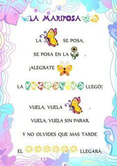 Imagen Bilingual Classroom, Bilingual Education, Spanish Classroom, Spanish Vocabulary, Spanish Language Learning, Teaching Spanish, Preschool Poems, Kids Poems, Spanish Lessons For Kids