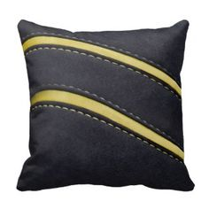 Designer Home Décor by Susan: Decorating with Leather Textured Throw Pillows