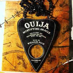 Ouija Board Planchette Necklace by EILH on Etsy, $20.00