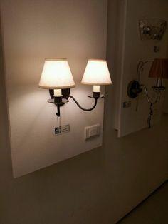 """מחשבות על מנורות לפרוזדור.  מקור: קמחן, הלח""""י, בני ברק."""