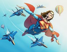 Superwoman - Phil Jimenez, Colors: Steve Downer