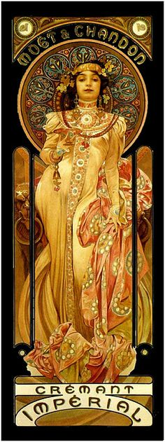 Alphonse Mucha. One of my faves!