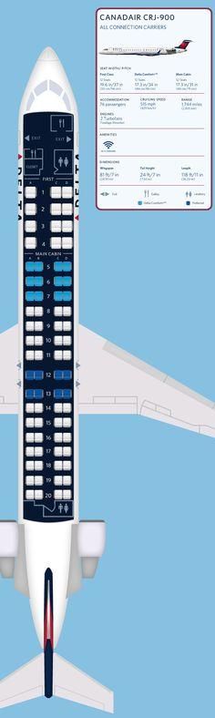Delta Seat Map