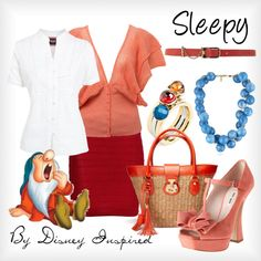 """""""Sleepy - from Disney's Snow White and the Seven Dwarves"""" by elliekayba on Polyvore"""