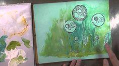 OTF: journal d'artiste avec les Primary Elements Art Journaling