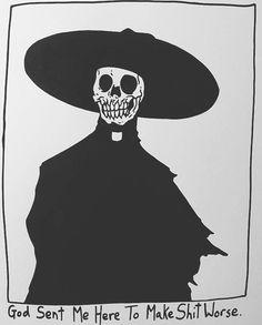 Better Drawing By Matt Bailey (@ baileyillustration) Matt Bailey, Art Et Design, Arte Obscura, Skeleton Art, Skull Art, Girl Skull, Girl Humor, Graphic, Art Inspo