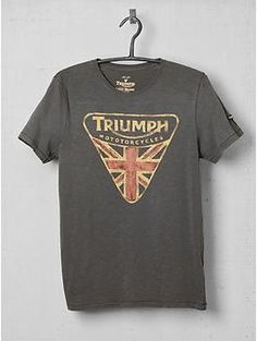Lucky Brand Triumph Badge Tee Shirt | Piperlime