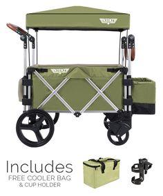 Keenz 7S Stroller Wagon, Green