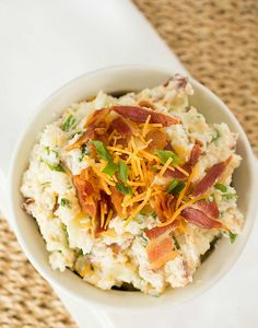 Loaded Baked Potato Salad - Brown Eyed Baker - A Food & Cooking Blog