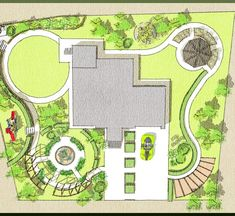 Best landscaping garden design drawing ideas - New ideas Concept Board Architecture, Landscape Architecture Drawing, Landscape Sketch, Landscape Design Plans, Garden Design Plans, Design Tropical, Public Garden, Villa Design, Garden Planning