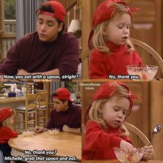 Michelle and Jesse Full House Memes, Full House Funny, Full House Quotes, Full House Cast, Full House Tv Show, Full House Michelle, Gilmore Girls, Michelle Tanner, Uncle Jesse