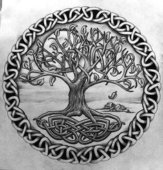 tattoo tree of life * tattoo tree ; tattoo tree of life ; tattoo tree of life woman ; tattoo tree of life men Yggdrasil Tattoo, Norse Tattoo, Celtic Tattoos, Viking Tattoos, Tattoo Symbols, Irish Tattoos, Celtic Symbols, Celtic Art, Celtic Knots