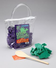 Dinosaur Cookie Tote Kit by Sassafras on #zulily today! $8.99