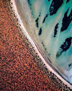 - Shark Bay It's like Mars with nice beaches. It has to be seen to be believed. This abstract image is available on our website as a print in a variety of sizes and materials. Photography And Videography, Aerial Photography, Digital Photography, Landscape Photography, Beach Photography, Landscape Art, Instagram Blog, Instagram Posts, Perspective