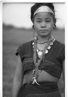 Portrait of a Digaru Mishmi woman,  Himalaya India
