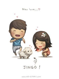 Welcome our newest member... Jingo 징고 (we changed it from Jinx)