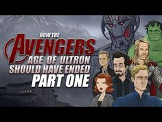 How The Avengers: Age Of Ultron Should Have Ended - Part One - YouTube