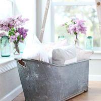 Antique French Bath Tub