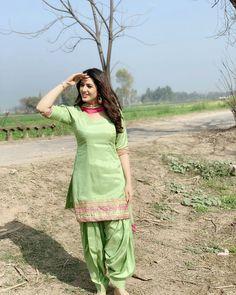 Isha Rikhi Hot HD Photos & Wallpapers for mobile (isha rikhi, actress, model, punjabi movie, hd images) Punjabi Girls, Punjabi Dress, Designer Punjabi Suits, Indian Designer Wear, Salwar Suits Simple, Salwar Suits Party Wear, Suits For Women, Clothes For Women, Patiala Suit