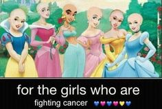 For the girls who are fighting cancer... You are beautiful!! xo