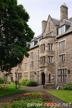 Where I may be living next fall.   St. Salvator's Hall  University of St. Andrews   Fife, Scotland