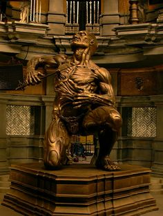 Riddick sculpture on set by danielsyzygy.deviantart.com on @deviantART