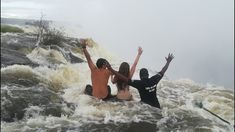 Livingstone Island, The Best Way to Experience Victoria Falls Livingstone, Living On The Edge, Victoria Falls, Swimming, Good Things, Island, Videos, Travel, Instagram