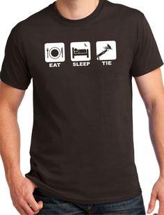 Fly Tying Shirt by BluYeti on Etsy