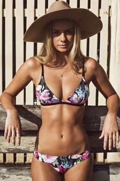 Summer Vibe Brazilian Floral Print Bikini LAVELIQ