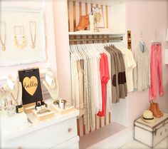 Blush Shop in Guelph, Ontario.... this is utter perfection!