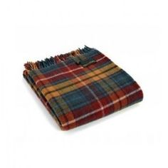 Antique BuchananTartan Knee Rug in Pure New Wool . . Sold by TartanPlusTweed.com A family owned kilt and gift shop in the Scottish Borders