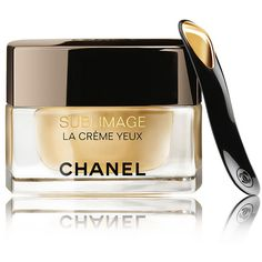 Chanel SUBLIMAGE LA CR&ME YEUX Ultimate Regeneration Eye Cream (3.001.275 IDR) ❤ liked on Polyvore featuring beauty products, skincare, eye care, chanel, anti aging skincare, antiaging skin care, anti aging skin care and chanel skin care