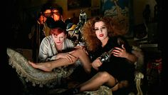 rocky horror picture show, columbia, and magenta image