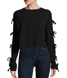Long Sleeve Tie Top - $29.99