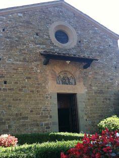 Firenze, La chiesetta di via San Leonardo in Arcetri. 9/20/2012