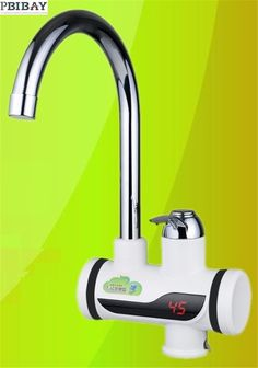 58.00$  Buy here - http://ali09h.shopchina.info/1/go.php?t=32737708135 - BD3000W-2,free shipping,Digital Display Instant Hot Water Tap,Tankless Electric Faucet,Kitchen Faucet Water Heater  #magazine