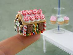 miniature gingerbread house - Google Search