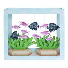 Paper Aquarium: Koran Angelfish/Purple Anthias - Toys - Paper CraftCanon CREATIVE PARK