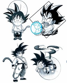 Goku, Dragon Ball Z Cartoon Tattoos, Anime Tattoos, Tattoo Design Drawings, Art Drawings, Akira, Z Tattoo, Cool Chest Tattoos, Naruto Tattoo, Old School Tattoo Designs