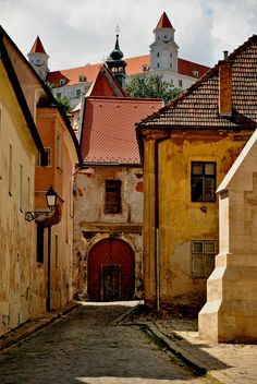 Bratislava , Capital city of Slovakia Places Around The World, Oh The Places You'll Go, Places To Travel, Places To Visit, Around The Worlds, Travel Destinations, Wonderful Places, Beautiful Places, Europe Centrale