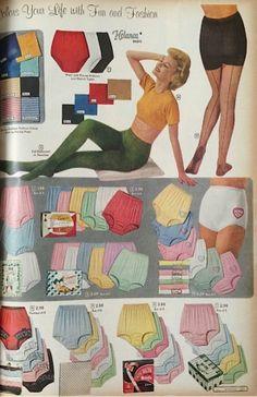 1960s fashion catalogue