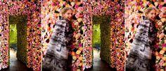 Flower Walls Raf Simons @ Dior http://www.notorious-mag.com/2012/07/19/christian-dior-flower-power/