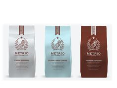 Packaging of the World: Creative Package Design Archive and Gallery: Metrio Coffee